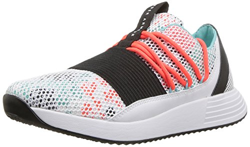 White neon Femme Coral Breathe Under Chaussures Ua De Lace Fitness Armour W TOUZOz