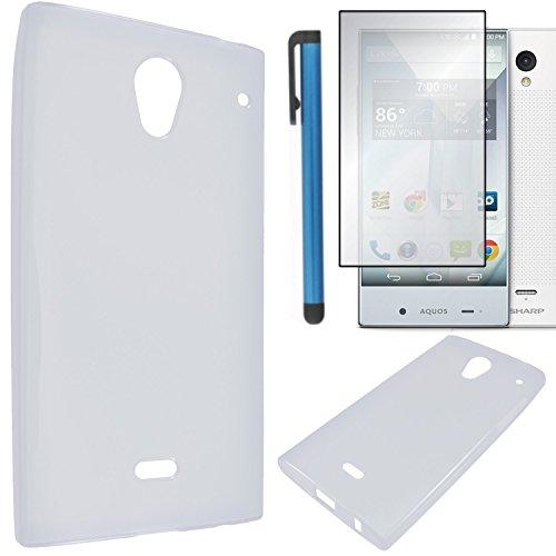 sharp aquos crystal gel case - 1