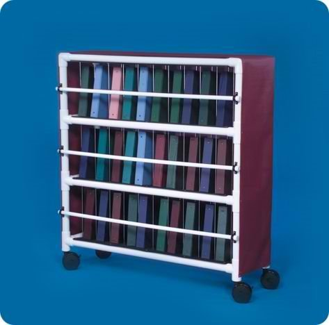 Notebook Chart Rack - Holds 30 Ring Binders - NCR30L - Large: 54