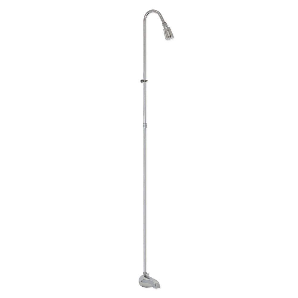 EZ-FLO 11120 Spout-Type Add-On Shower Unit, Chrome by EZ-Flo