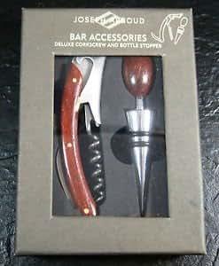 Joseph abboud bar accessories corkscrew for Bar decor amazon