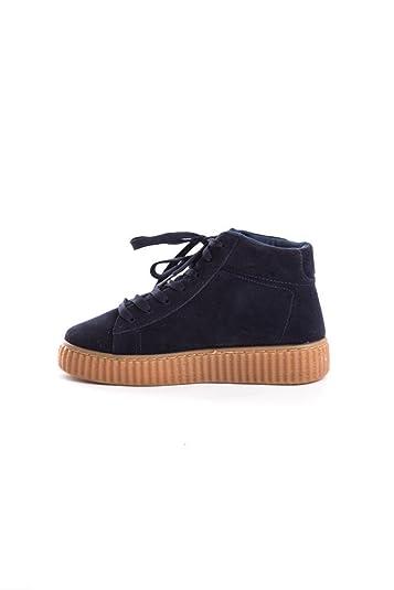 Amazon.com | Women's Qupid Shoes High Top Suede Platform Creeper ...