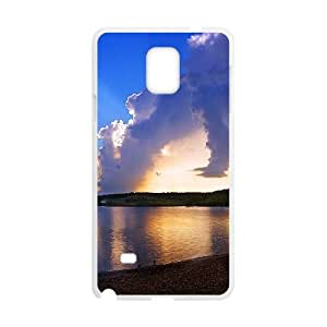 {Funny Series} Samsung Galaxy Note 4 Case Last Casts, Cute Girly & Cheap Case Okaycosama - White