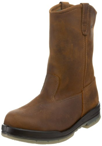 Wolverine Men's W03258 Durashock Waterproof Steel-Toe Boot,Malt,10 XW US