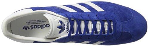 adidas Gazelle, Zapatillas Unisex Adulto Azul (Collegiate Royal/White/Gold Metallic)