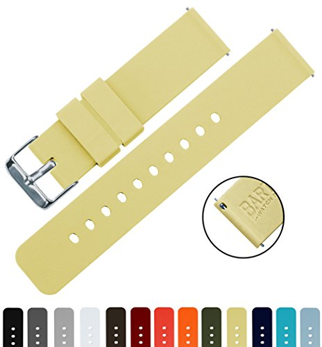 barton-quick-release-choose-color-width-16mm-18mm-20mm-22mm-happy-yellow-16mm-watch-band-strap