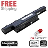 Dr. Battery® Advanced Pro Series Laptop / Notebook Battery Replacement for Acer 3INR19/65-2 (4400mAh / 48Wh) Samsung SDI cell! 60-Day Money Back Guarantee! 2 Year Warranty