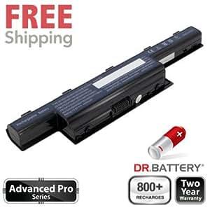 Dr Battery Advanced Pro Series batería de repuesto para portátiles Gateway NE56R45u (4400mah / 48wh) 800 ciclos de recarga 2 año de garantía.