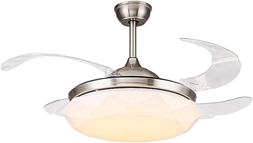 Luz del Ventilador de Techo Luz Moderna Ventilador de Techo con ...