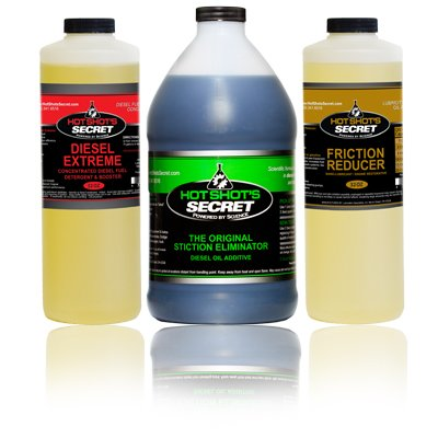 Hot Shot's Secret TRIO Diesel Oil and Fuel Additive - 128 fl. oz.
