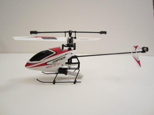 4CH 2.4GHz Mini Radio Single Propeller RC Helicopter Gyro V911 RTF White&Blue by WL