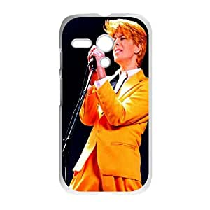 David-Bowie Motorola G Cell Phone Case White