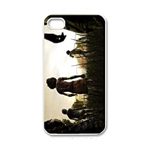 The Walking Dead The Walking Dead iPhone 4 4s White Phone Case Cover LSK1279