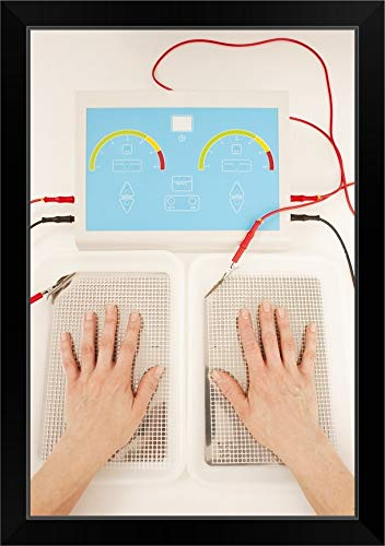 CANVAS ON DEMAND Iontophoresis for Excess Sweating Black Framed Art Print, 19