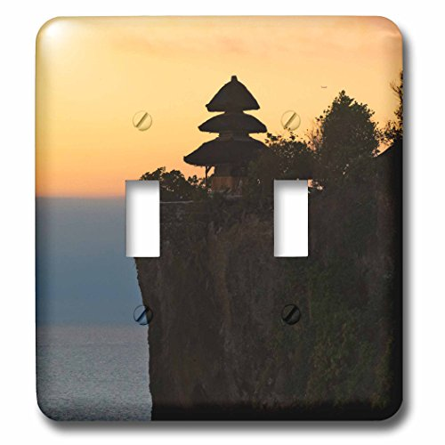 Danita Delimont - Coastlines - Uluwatu Temple, Bali island, Indonesia - Light Switch Covers - double toggle switch (lsp_225820_2) by 3dRose