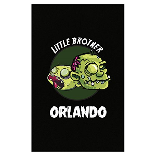 Prints Express Halloween Costume Orlando Little Brother Funny Boys Personalized Gift - Poster -