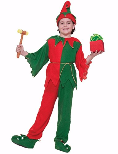 60s Costumes Guys (Santa's Helper Elf Christmas Child Costume)