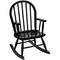Gift Mark Childrens Windsor Rocking Chair, Espresso