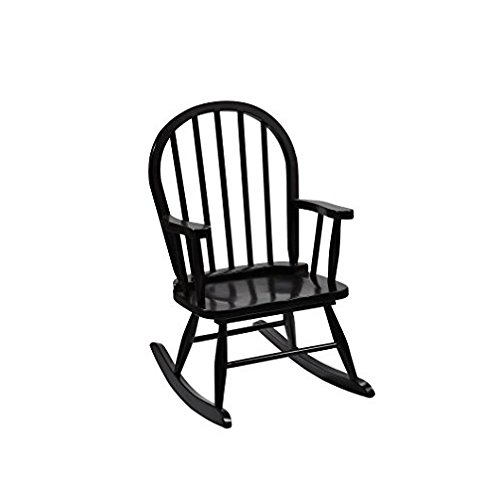 Gift Mark Childrenu0027s Windsor Rocking Chair, Espresso High Quality