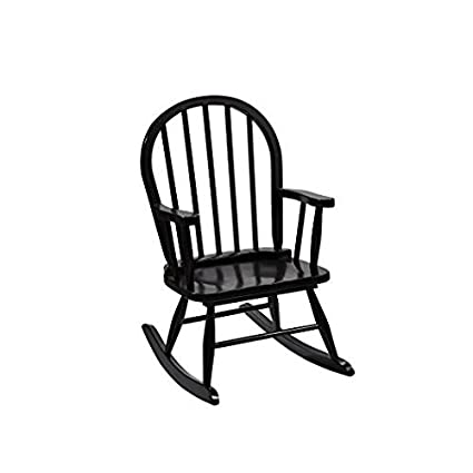 Swell Gimark 3600E Childrens Windsor Rocking Chair Incolor Espresso Gamerscity Chair Design For Home Gamerscityorg