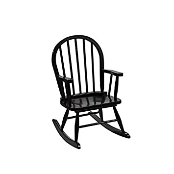 Gift Mark Childrenu0027s Windsor Rocking Chair, Espresso