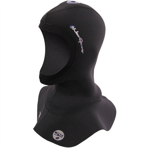 Neo Sport XSPAN Multi Density Wetsuit Hood Available in Three thicknesses 3/2MM - 5/3MM - 7/5MM. Flow Vent. Anatomical fit. Skin Neoprene face Seal which can be Trimmed for Custom fit.