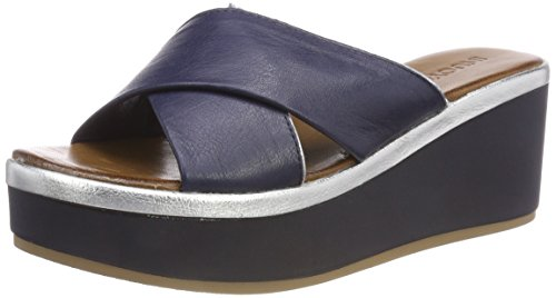 Navy 16780415 silver Inuovo Zeppe 8678 Blu Donna wx4TI6Rq