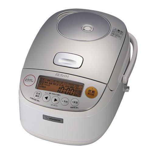 象印 炊飯器 圧力IH式 鉄器コート 5.5合炊き ホワイト NP-BG10-WA   B073TRD9WM