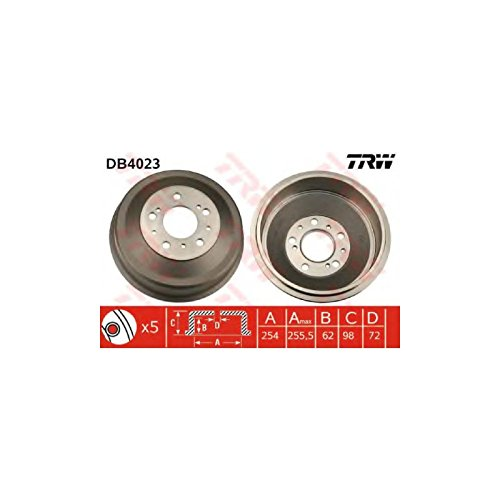 TRW DB4023 Brake Drums: