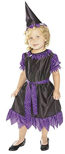 Rubie's Costume Soft and Cuddly Purple Plum Witch Costume, 6-12 Months Costume