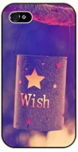 For Ipod Touch 5 Case Cover Wish. Star, magic - Black plastic case / Inspirational and motivational life quotes / AUTHENTIC