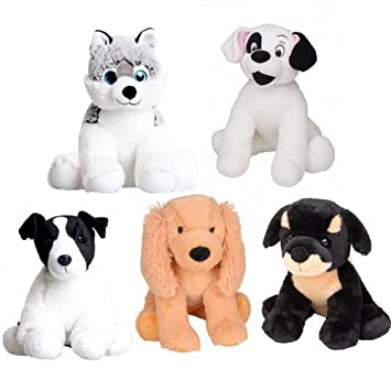 3327c344ade Splodge Teddy Parties - 5 x 10 Build a Cuddles Dog No Sew Party Pack - new  sew - Ideal for kids birthday party  Amazon.co.uk  Toys   Games