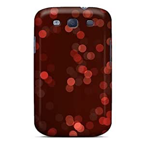 MMZ DIY PHONE CASEMialisabblake Premium Protective Hard Case For Galaxy S3- Nice Design - Christmas Bokeh