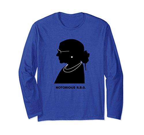 Notorious RBG Long Sleeve Shirt Ruth Ginsburg Supreme Court