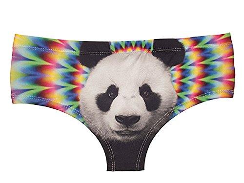 Palleon - Bikini - para mujer psychedelic Panda