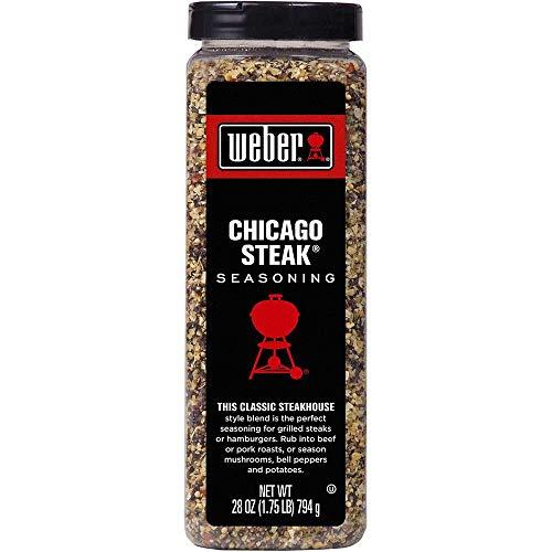 Weber Chicago Steak Seasoning, 28 Ounce -- 6 per case.