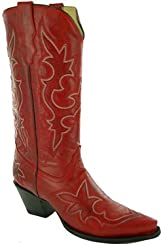 Corral Womens Vintage Leather Western Boot Snip Toe