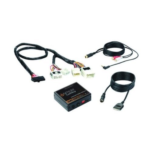 Image of iSimple ISNI572 Gateway Automotive Audio Input Interface Kit for 2007-10 Select Nissan Vehicles Auxiliary Input Adapters