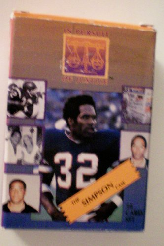 O. J. Simpson Deck of Playing Cards -- In Pursuit of Justice -- The Simpson Case 50 Card Set -- Full-bleed photos of people, places and things of importance and ()