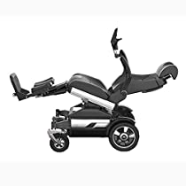 MYRCLLY Electric Wheelchair, Portable Electric Wheelchair for The Elderly with Disabilities, Reclining Wheelchair After Standing, Electric Lift