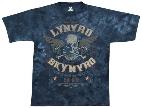 Liquid Blue Skynyrd Bullets T Shirt product image