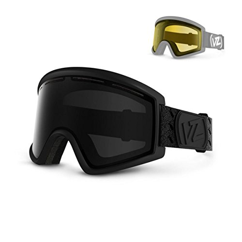 VonZipper Cleaver Goggles, Black Satin, Black Out - Eyewear Vz