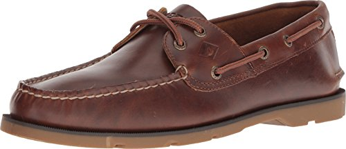 SPERRY Men's Leeward 2-Eye Yacht Club Tan 11 M US