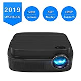 Best Lcd Projectors - Portable Projector -12000 lumens WiFi 1080p Video Projector Review