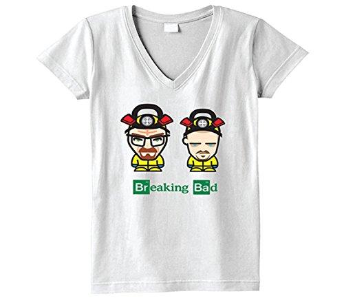 Price comparison product image Breaking Bad Girls V Neck T Shirt Large