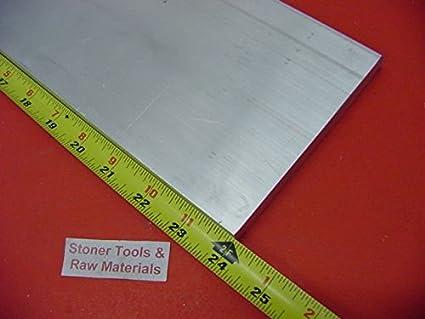 """1//4/"""" X 4/"""" ALUMINUM 6061 FLAT BAR 20/"""" long T6511 .250/"""" Plate Mill Stock"""