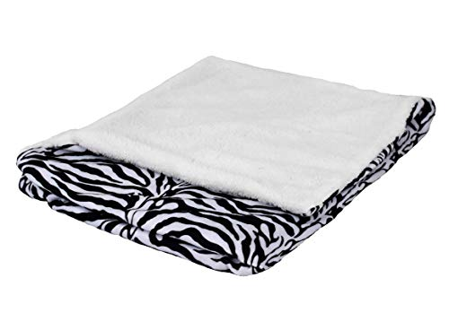 """SNUGGIES Zebra Stuffed Animal Blanket & Cuddly Pillow 2-in-1 Combo – Super Soft and Cuddly Baby Zebra Blanket 37"""" x 30"""" and Zoo Plush Toy 14"""" x 8"""" – Perfect Unisex Baby Shower Gift by Snuggies (Image #9)"""