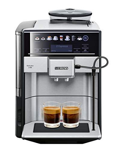 Siemens super-automatic espresso coffee machine silver
