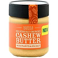 Marks & Spencer Cashew Butter With Peanuts & Sea Salt 227g (Pack of 2)