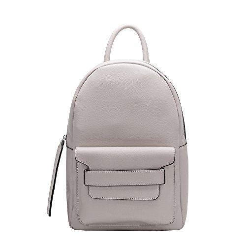 Kacie Backpack Black Vegan Bags Stylish Bianco Luxury Leather For Bone Shoulder Melie Women R5qfwE